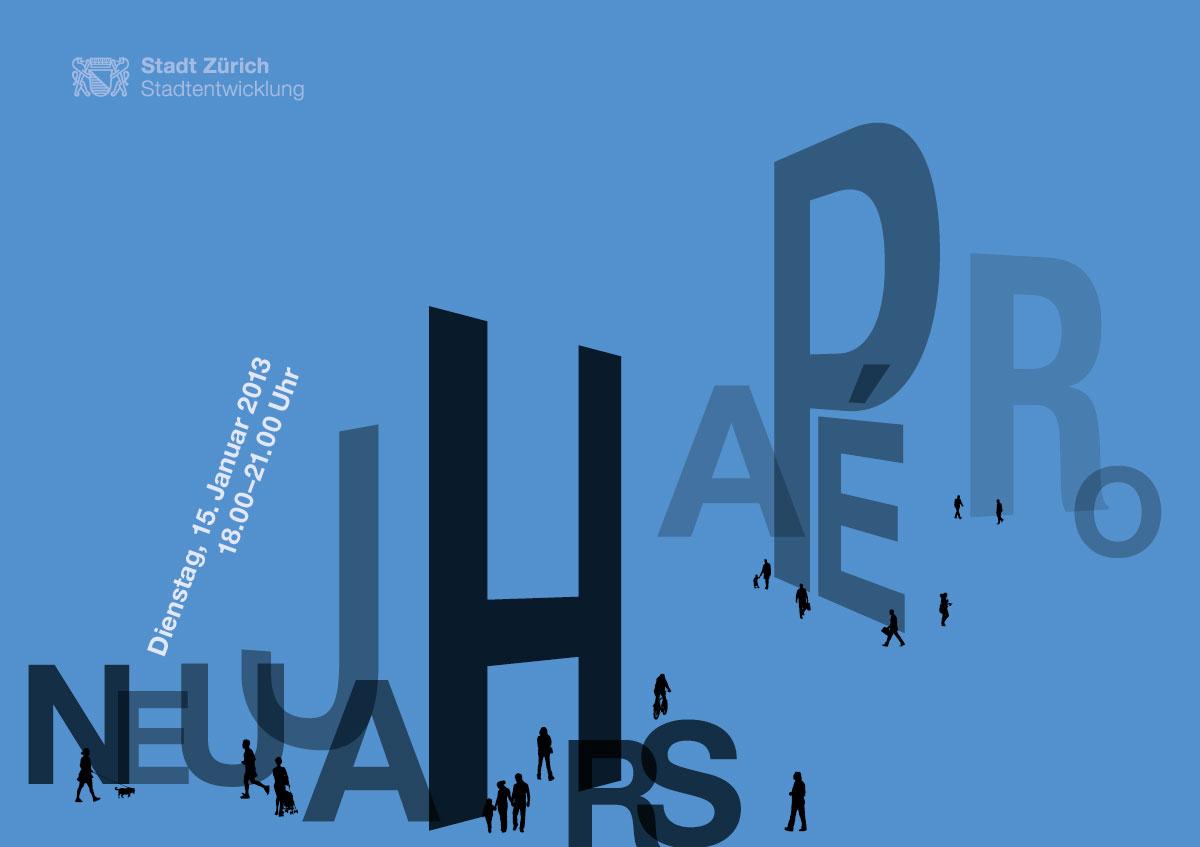 Stadtentwicklung-Zuerich_Einladungskarte_Neujahrsapero-2013